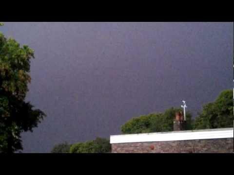 Thunderstorm 25/09/12.