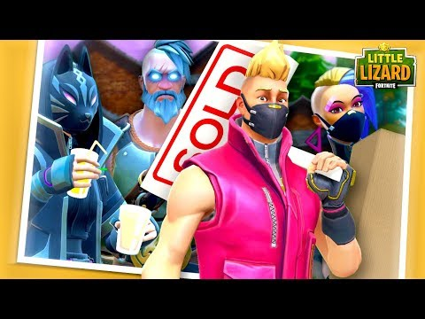 DRIFTS FAMILY MOVE INTO A NEW HOME!!! - Fortnite Season X