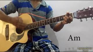 Chahun Main Ya Na Guitar Open Chords Lesson, Strumming Pattern, Running Progressions