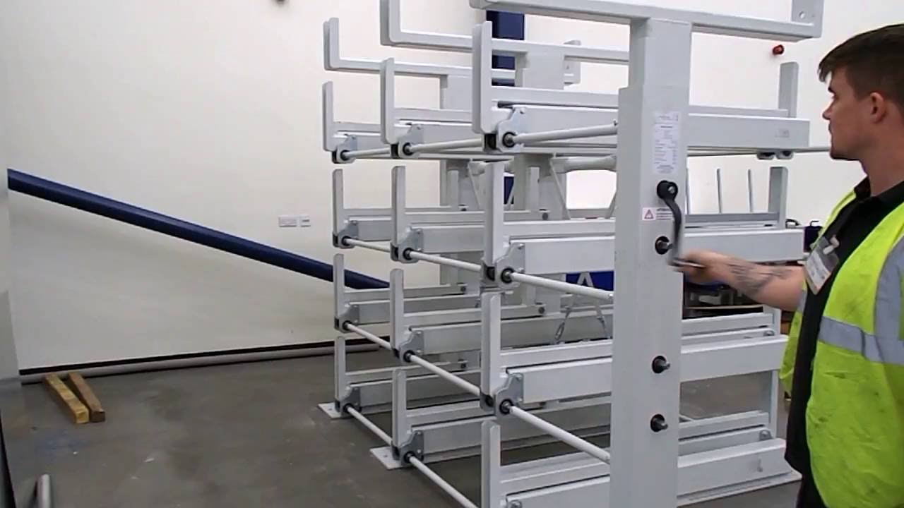 Cantilever Racking Wind Out 100 Youtube