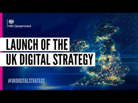The UK Digital Strategy Launch