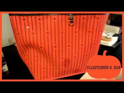 Cleaning inside Louis Vuitton | VLOGTOBER 6, 2016