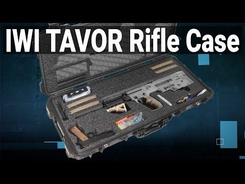 IWI Tavor Rifle Case - Video
