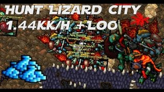 tibia hunt lizard city 14kkh msed 170