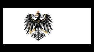 Marsch des Infanterie Regiments «Großherzog Friedrich von Baden»
