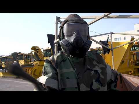 Contaminated Control Area MISAWA AB, AOMORI, JAPAN 03.22.2019