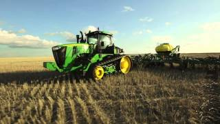 The New John Deere 9R/9RT Series Tractors