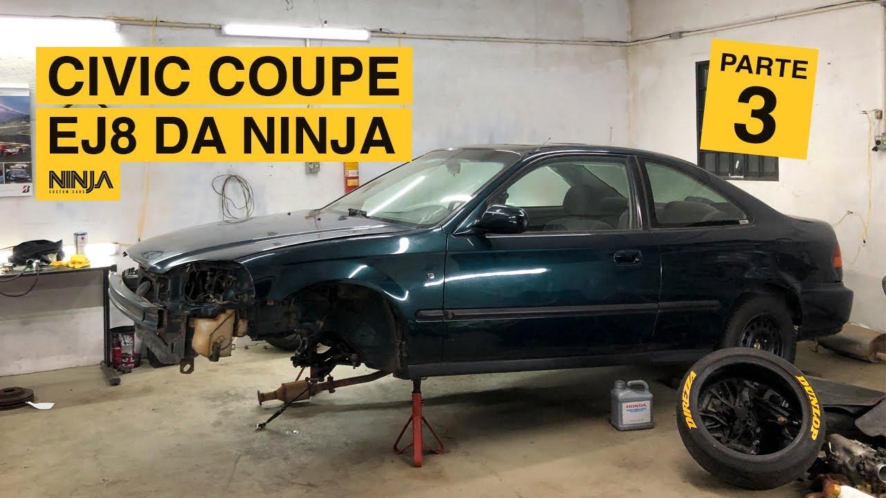 Pivô inferior, pastilha de freio e caixa de direção | Civic Coupe EJ8 - Restauração Parte 03