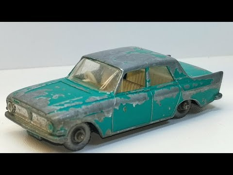 Matchbox Restoration Ford Zephyr 6 Nr 33 Diecast Car