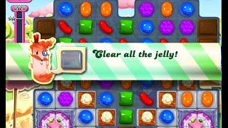 Candy Crush Saga Level 864 walkthrough (no boosters)