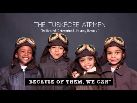 because of them we can tuskegee airman youtube. Black Bedroom Furniture Sets. Home Design Ideas