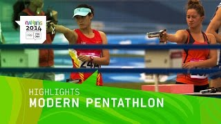 Mixed International Team Modern Pentathlon - Highlights | Nanjing 2014 Youth Olympic Games