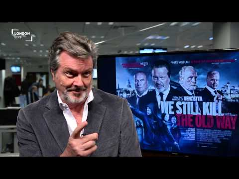 Ian Ogilvy's new role in We Still Kill The Old Way is a far cry from The Saint