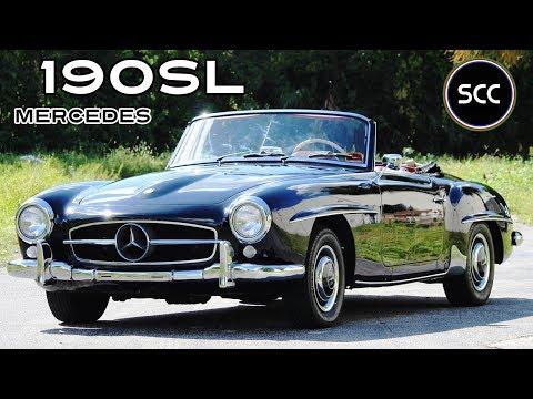 mercedes-benz-190-sl-/-190sl-convertible-1963---modest-test-drive---engine-sound-|-scc-tv
