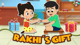 Rakhi Gift | Raksha Bandhan Special | English Moral Stories | Kids Stories | Animated Short Stories