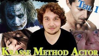 8 KRASSE METHOD ACTOR Teil 1 | Schauspieler die für ihre Rollen an Extreme gehen