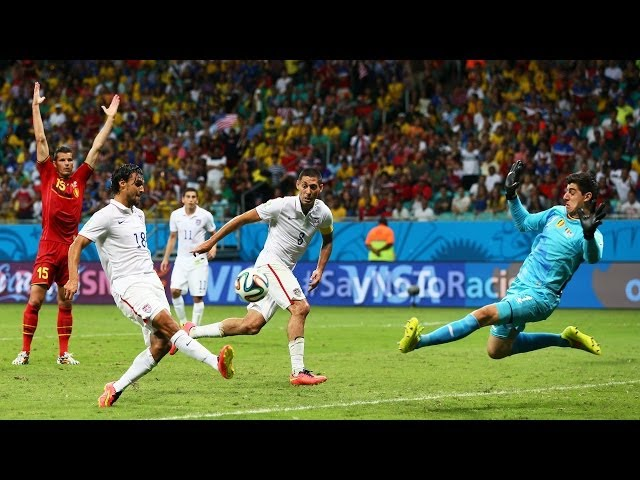 USA's Chris Wondolowski Misses Dramatic Goal Against Belgium