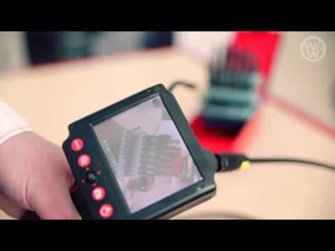 endoskopkamera mit 3 5 display und microsd steckplatz inspektionsger t youtube. Black Bedroom Furniture Sets. Home Design Ideas