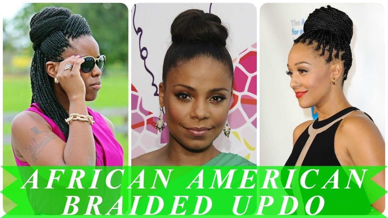20+ best ideas about african american braided updo hairstyles - YouTube