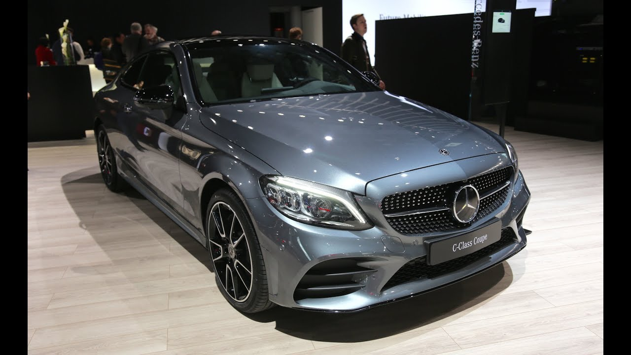 2019 mercedes benz c class coupe first look youtube. Black Bedroom Furniture Sets. Home Design Ideas