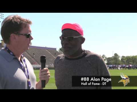 #88 Alan Page at Minnesota Vikings Camp 2017 (8/4)