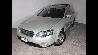 Automatic 4cyl Subaru Outback AWD Wagon 2003 with Low KMs Review For Sale