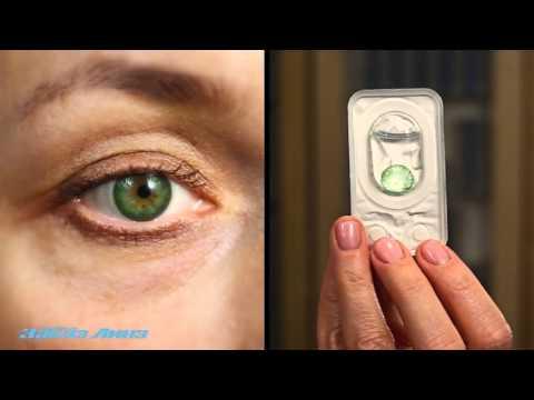Как выбрать естественный оттенок цветных  контактных линз