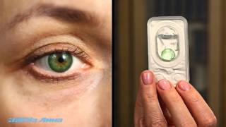 Как выбрать естественный оттенок цветных  контактных линз(, 2016-01-12T11:39:47.000Z)