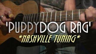 Baixar Nashville tuning - Fender Sonoran 3/4 parlor guitar - ragtime guitar.