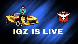 Free Fire Live Playing with INDIANGAMING ll Indian Gaming Zone