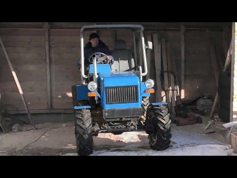Мини трактора самодельные видео своими руками