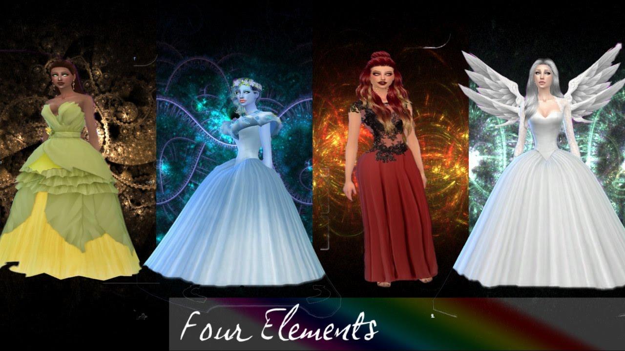 ✘✘THE SIMS 4 - creating the four elements ₪ Criando os 4 elementos✘✘