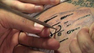 El auge de los tatuajes tailandeses
