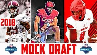 2018 NFL Mock Draft - 2018 NFL Draft Prospects Baker Mayfield Josh Rosen Sam Darnold (UPDATED) Free HD Video