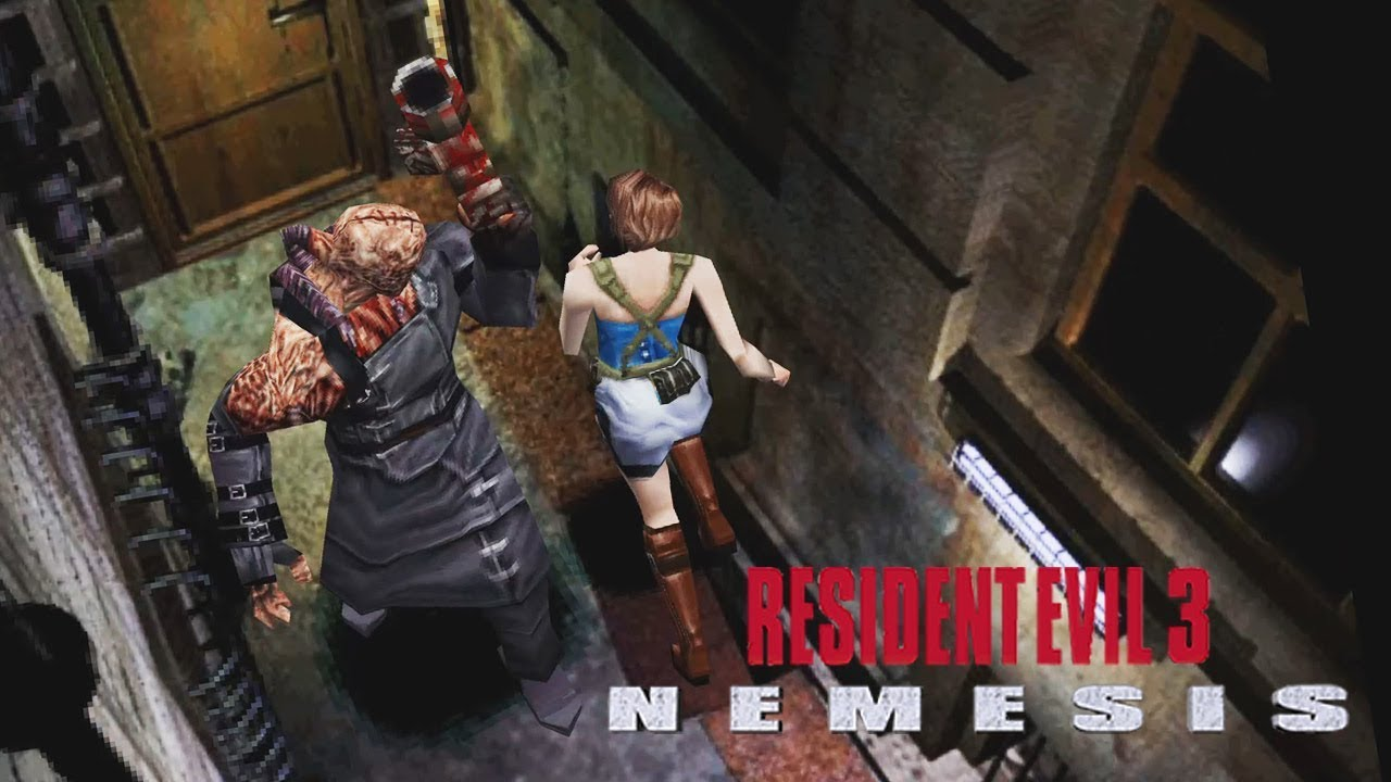 RESIDENT EVIL 3: NEMESIS - #5: Jillnaldinho Dibrando o Nemesis ...