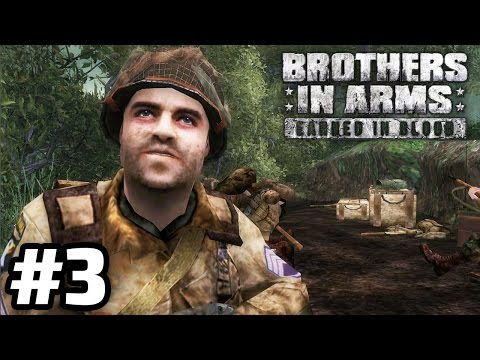 CLEARING OUT CARENTAN   Brothers in Arms: Earned in Blood Campaign Walkthrough #3