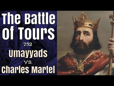Charles Martel and the Battle of Tours, 732