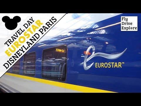 Travel Day - Eurostar London To Disneyland Paris