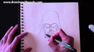 Drawing Darth Vader with Paolo Morrone