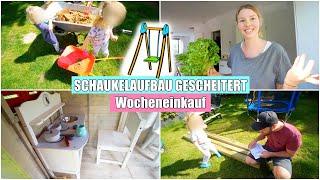 Schaukel aufbauen & Spielhaus einrichten | Food Haul | Isabeau