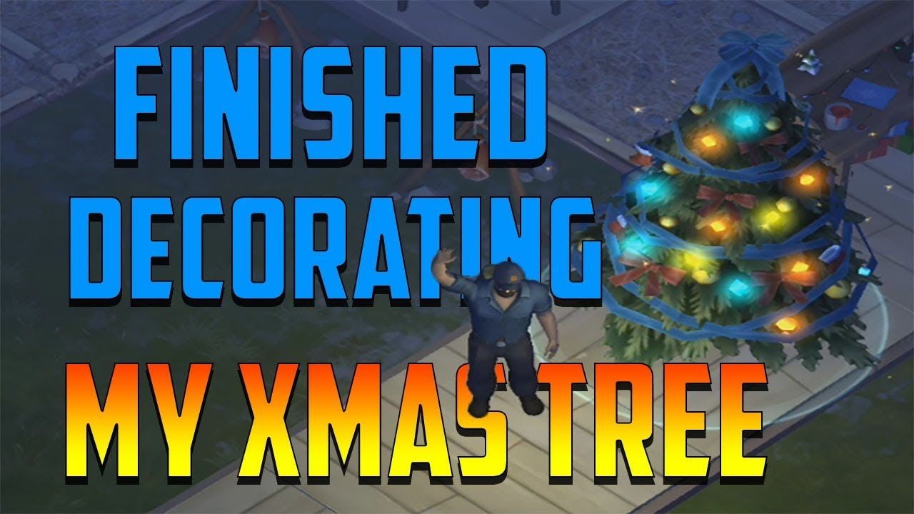 Finished Decorating My Christmas Tree Last Day On Earth Survival