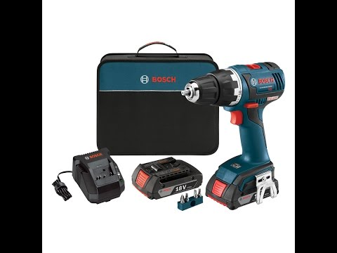Review: Bosch DDS182-02 Brushless Compact drill kit