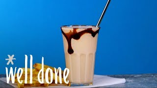How To Make A Caribbean Bushwacker: The Boozy Milkshake Of Your Dreams | Recipe | Well Done