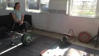 Cristina Iovu snatch @ 100kg