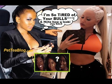 Sundy Carter Checks Amber Rose for Rehashing Dark Girls from Philly Comments ☕👀