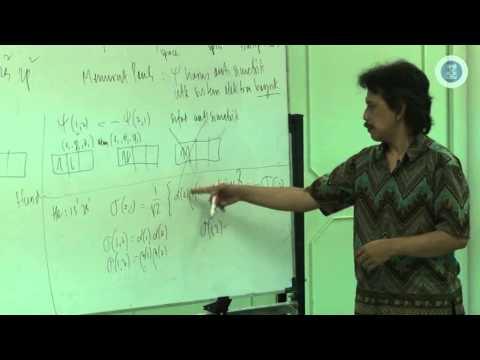 Kuliah Struktur & Ikatan Kimia(8) : Spektrum Atom Rumit