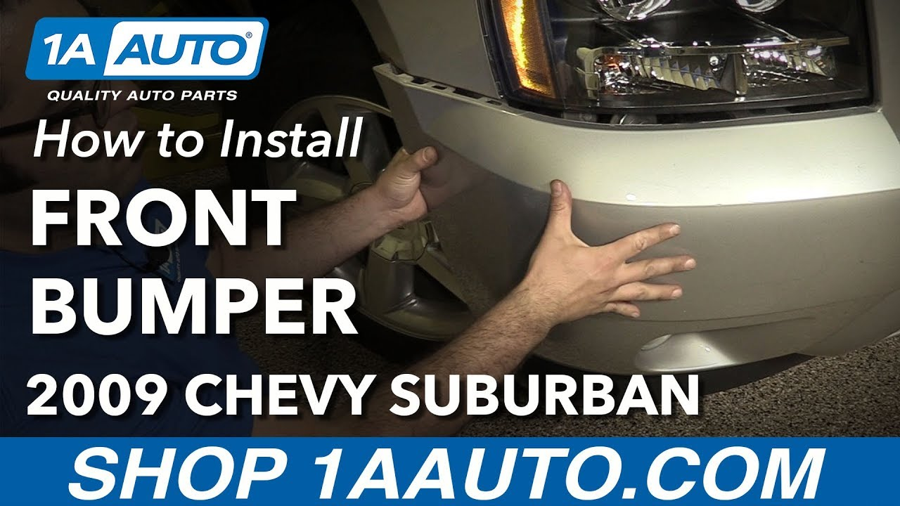 hight resolution of how to remove front bumper 07 14 chevy suburban 1500