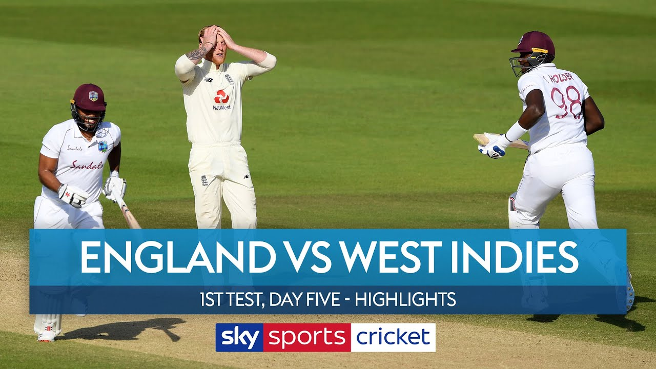 England beaten by West Indies as Blackwood scores 95 | England v West Indies Highlights