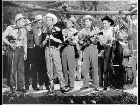 Early Sons Of The Pioneers - Leaning On The Everlasting Arm (1937).