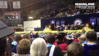 Dr. Jill Biden talks about 3 lessons she learned while attending #Villanova in the 90's
